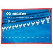 Комплект рожковых ключей 6-32мм, чехол из теторона, 12пр