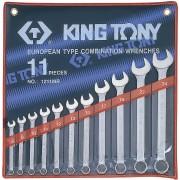 Комплект комбинированных ключей 8-24мм, 11пр