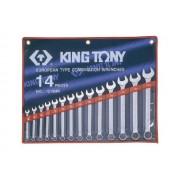 Комплект комбинированных ключей 8-24мм, 14пр