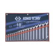 Комплект комбинированных ключей 6-24мм, 18пр