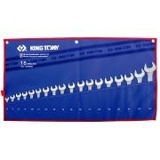 Комплект комбинированных ключей 6-24мм, чехол из теторона,18пр