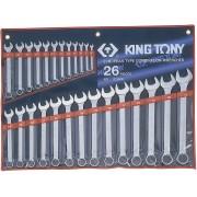 Комплект комбинированных ключей 6-32мм, 26пр
