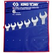 Комплект комбинированных ключей 34-50мм, чехол из теторона, 6пр