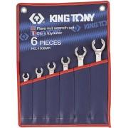 Комплект разрезных ключей, 8-22мм, нейлоновый чехол, 6пр