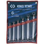 Комплект накидных ключей 6-17мм, 6пр