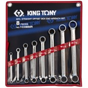 Комплект накидных ключей 6-22мм, 8пр