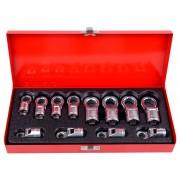 Набор накидных ключей, 8-19 мм, 12 пр