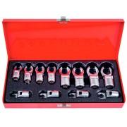 Набор разрезных ключей, 8-19 мм, 12 пр