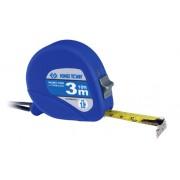 Рулетка измерительная с магнитным крюком, 3 м