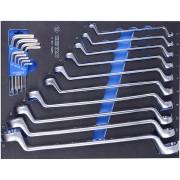 Набор инструментов ключи накидные и Г-образные TORX